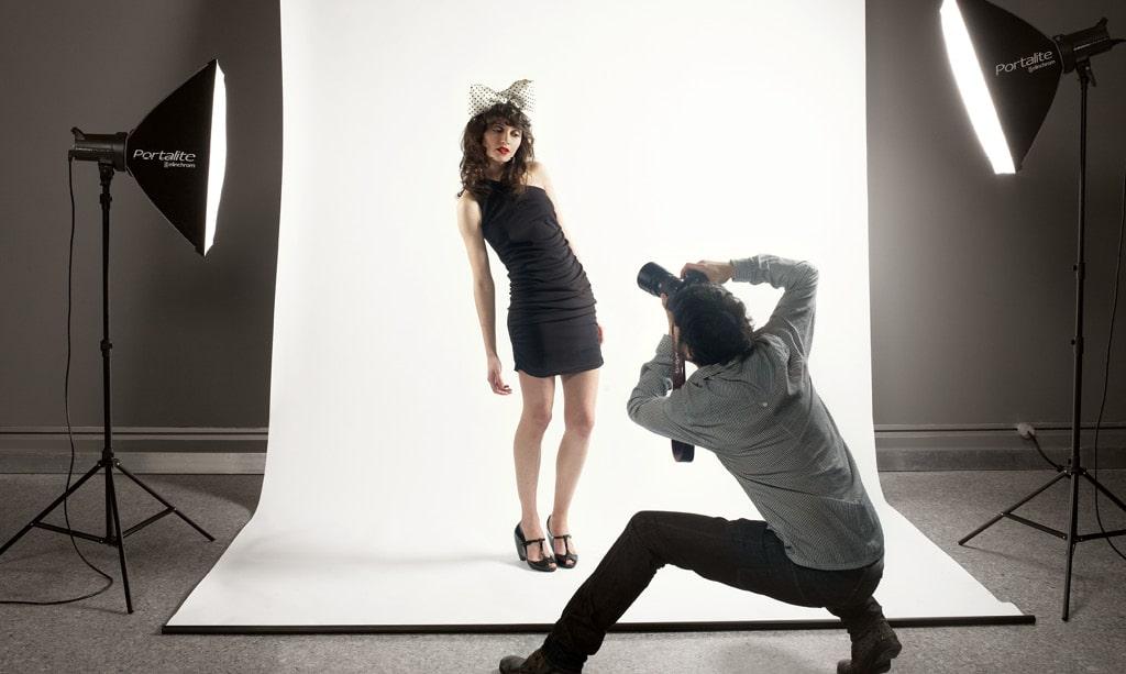 studio fotografico casalingo