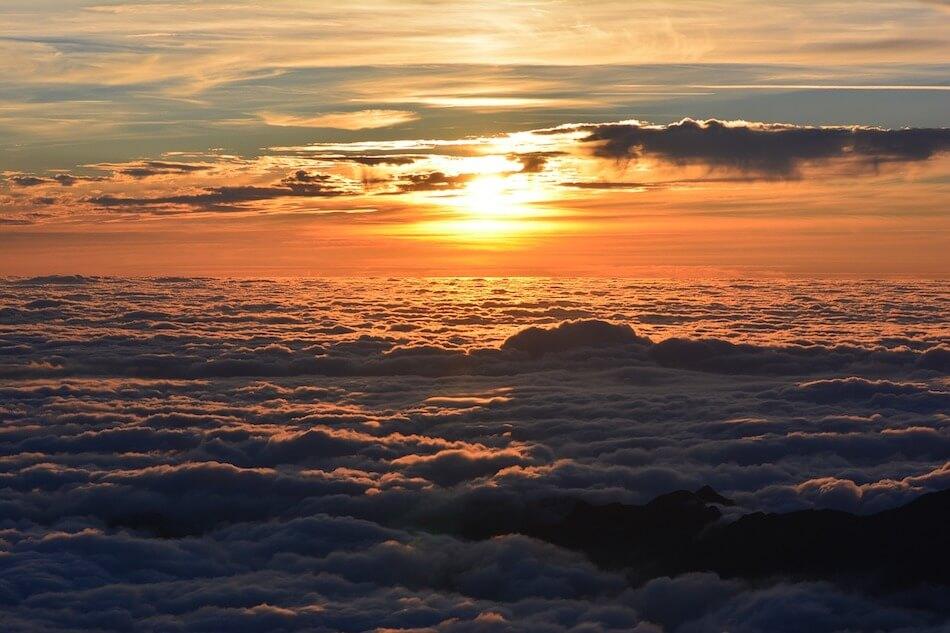 fotografare il tramonto