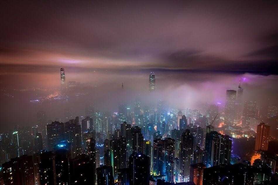 notte-hong-kong