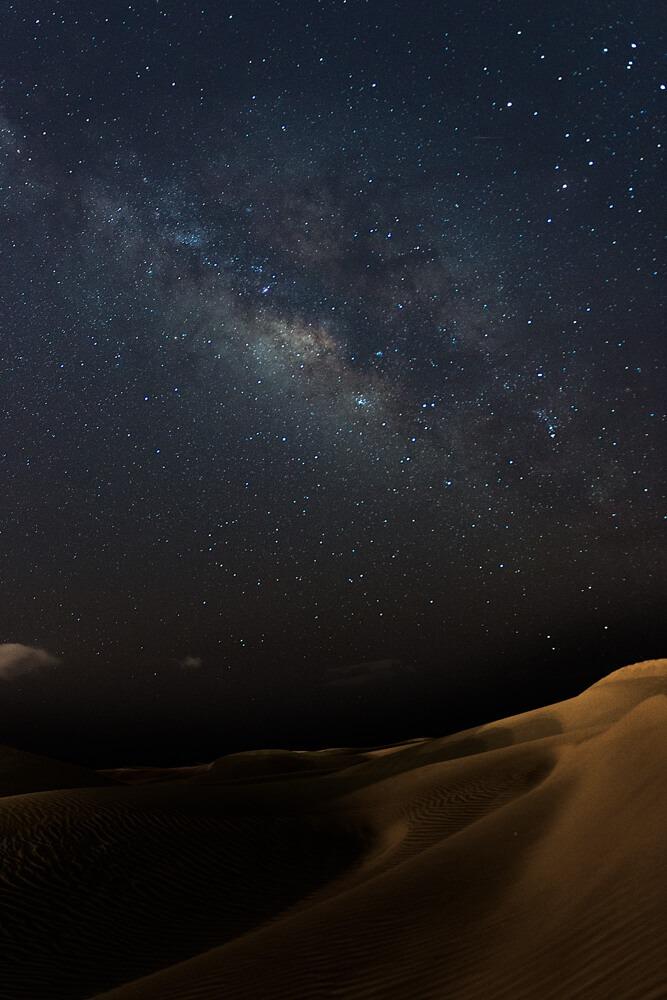 Fotografia notturna alla Via Lattea