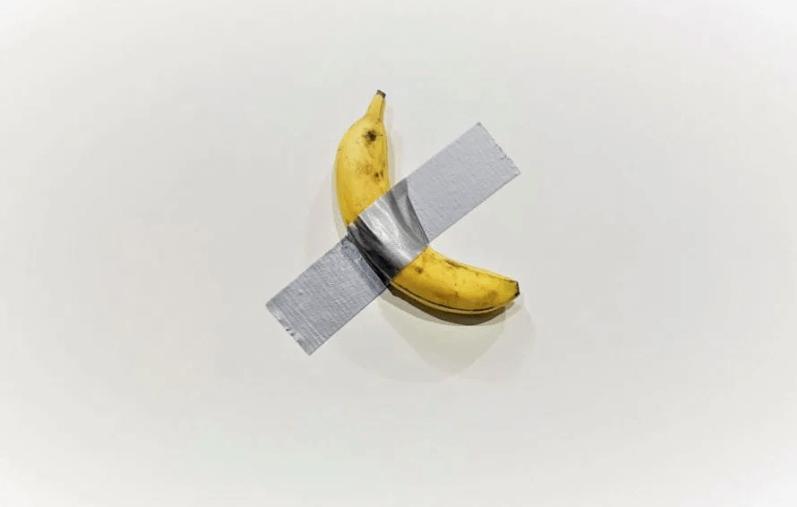 banana di Cattelan