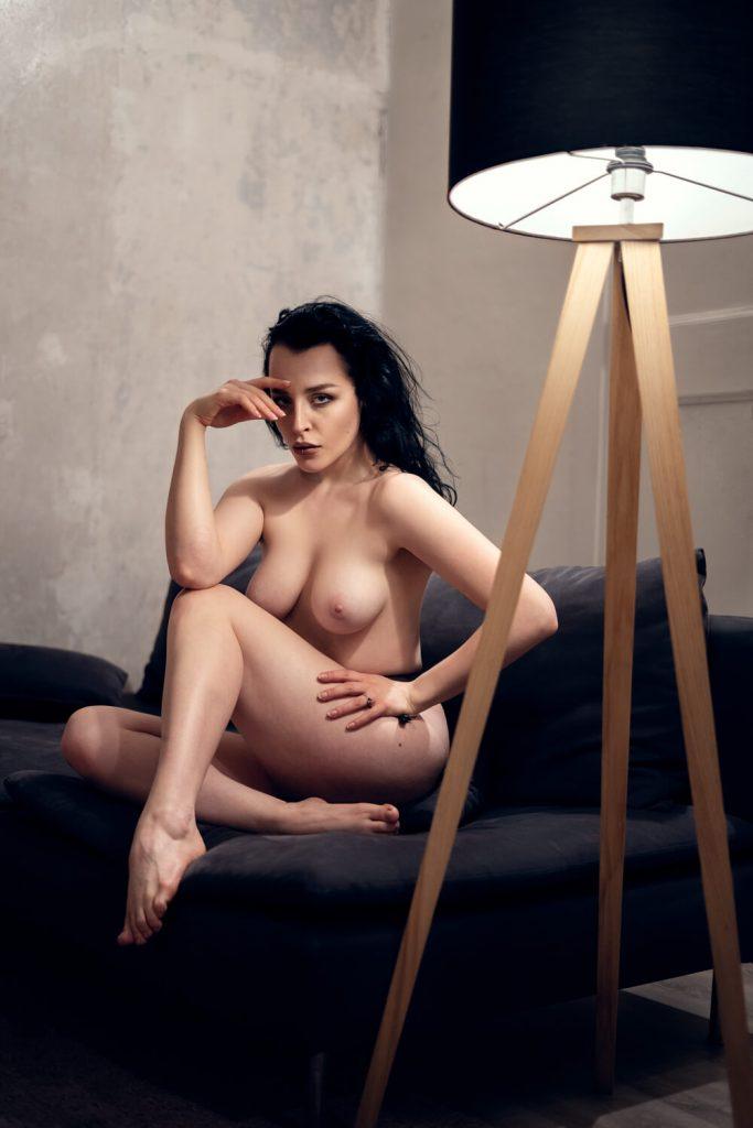 ritratto nudo